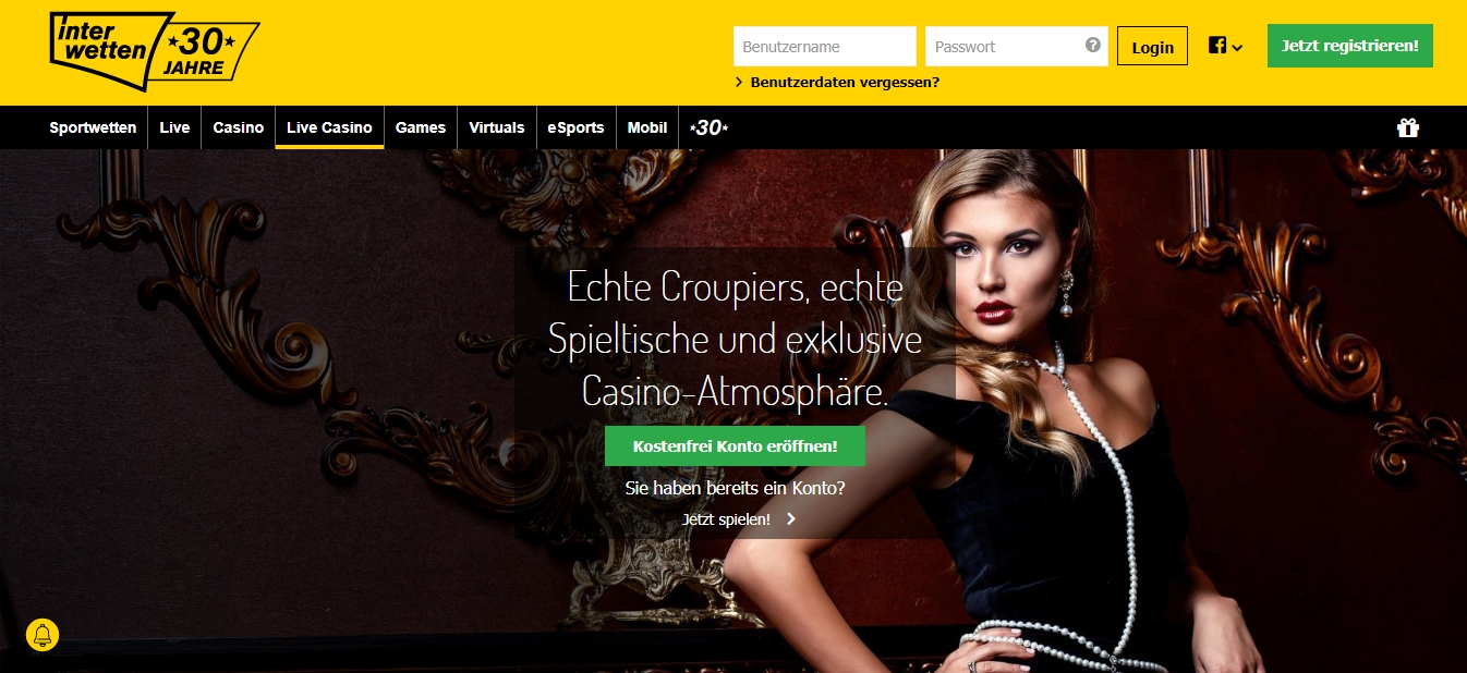 Interwetten Live Casino